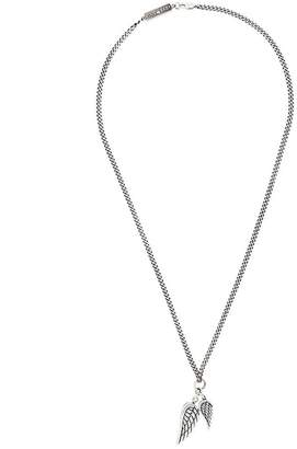 King Baby Studio wing pendant chord necklace