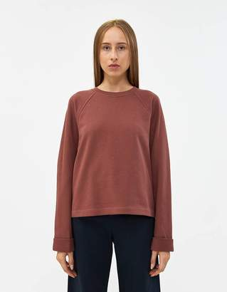Dries Van Noten Halo Sweatshirt in Rust
