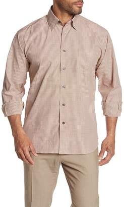 Robert Talbott Anderson II Micro Plaid Long Sleeve Classic Fit Shirt