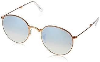 Ray-Ban Metal Man Sunglasses - Frame Grey Flash Gradient Lenses 47mm Non-Polarized