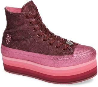 Converse x Miley Cyrus Chuck Taylor All-Star High-Top Platform Sneaker