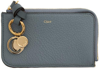 Chloé Blue Alphabet Card Holder