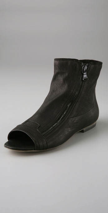 LD Tuttle The Pixie Open Toe Flat Booties
