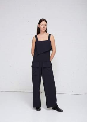 Low Classic Pocket Sleeveless Jumpsuit