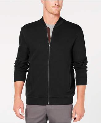 Tasso Elba Men Zip-Front Ribbed Jacket