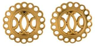 Hermes Medallion Clip-On Earrings