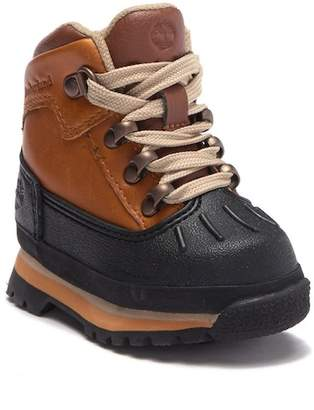Timberland Euro Hiker Shell Toe Leather Boot (Toddler & Little Kid)