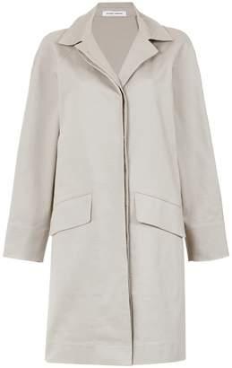 Gloria Coelho side slits cape coat