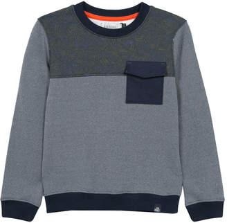 Jean Bourget Crewneck Leaves Sweater
