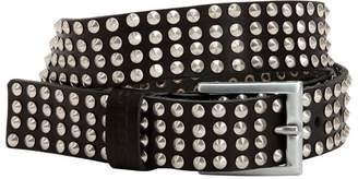 Diesel 50mm Studded Leather Belt
