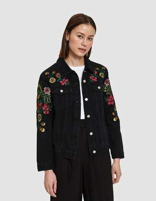 Stelen Tuileries Embroidered Denim Jacket
