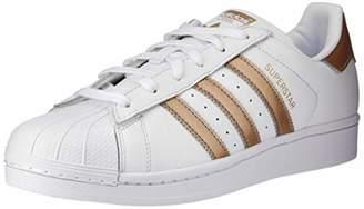 1f5e32b64 adidas Women s s Superstar W Gymnastics Shoes Cyber Metallic Footwear White  0