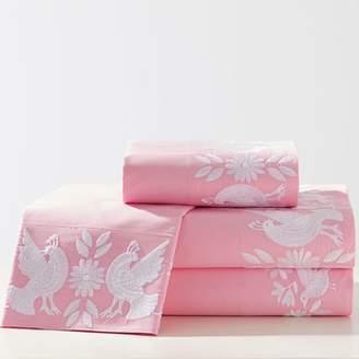 Pottery Barn Teen Lennon & Maisy Enchanted Cuff Sheet Set, Full, Pink