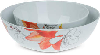 Tabletops Unlimited Lily 2-Pc. Serving Bowl Set