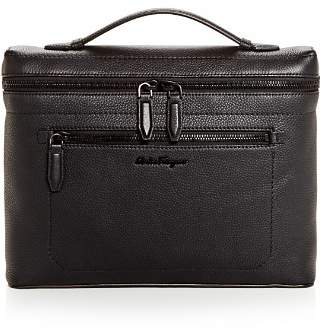 Salvatore Ferragamo Firenze Slim Leather Briefcase