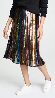 Alice + Olivia Tianna Midi Skirt