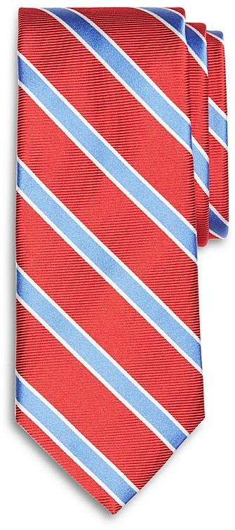 Brooks Brothers Brooks Brothers Bold Stripe Classic Tie