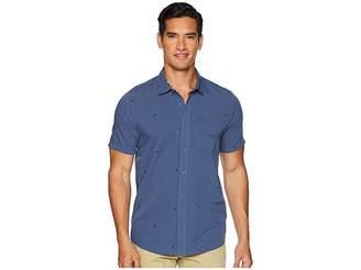 Volcom Bleeker Short Sleeve Woven Top Men's Clothing