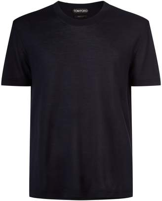 Tom Ford Silk Knitted T-Shirt