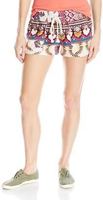 Roxy Women's Oceanside Printed Beach Shorts