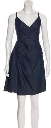 RED Valentino Sleeveless Denim Dress