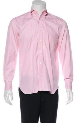 Borrelli Woven Dress Shirt