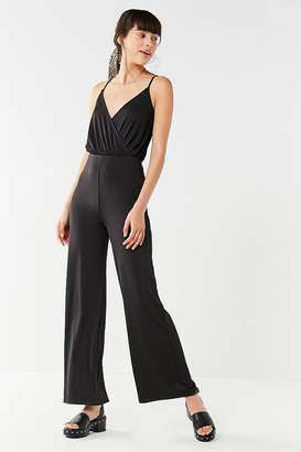 Urban Outfitters Slinky Surplice Jumpsuit