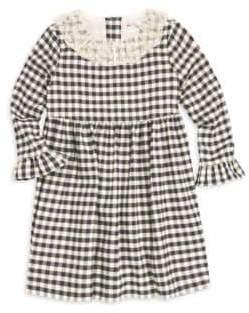 Bonpoint Little Girl's& Girl's Check Dress