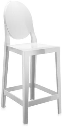 Kartell One More Stool - White - 65cm