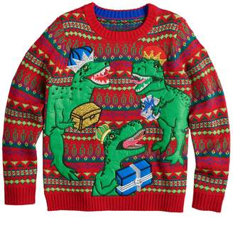 Boys 8-20 Dinosaur Sweater