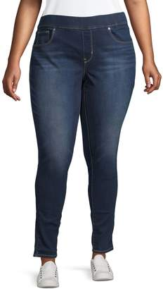 Levi's Plus Mid-Rise Super Skinny Jeggings