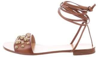 Michael Kors Mica Leather Sandals