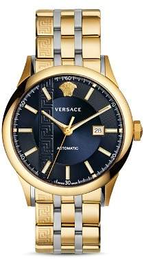 Versace Aiakos Two-Tone Automatic Watch, 44mm