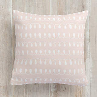 Loop Di Loop Square Pillow