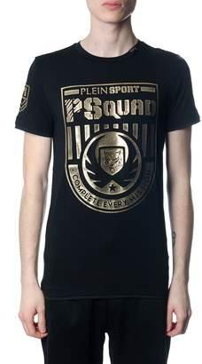 Philipp Plein Squad Black And Gold T-shirt