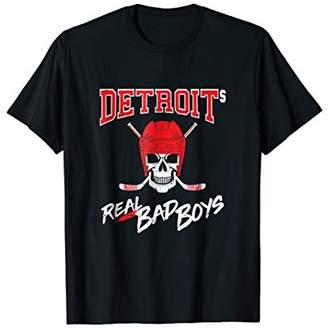 Mens Detroits Real Bad Boys Detroit Hockey Bob Probert Mens