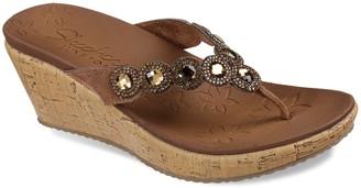 Skechers Cali Beverlee Bizzy Babe Women's Wedge Sandals