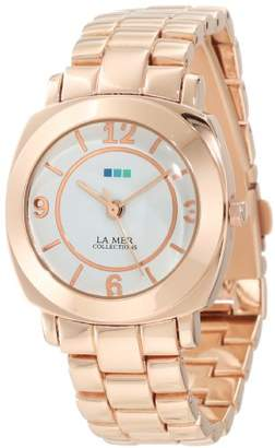 La Mer Women's LMODYSSEYLINK002 Rose Gold Mini Linked Odyssey Watch