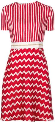 Stella McCartney striped zigzag T-shirt dress