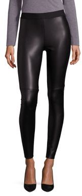 Bailey 44 Stevie Faux Leather-Front Leggings $235 thestylecure.com