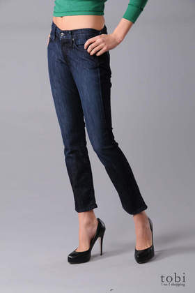 James Jeans Ritchie Ankle Skinny Jeans in Icon