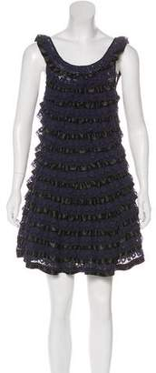 Marc by Marc Jacobs Tiered Sleeveless Lace Mini Dress