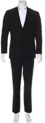 Kenzo Wool Notch-Lapel Suit