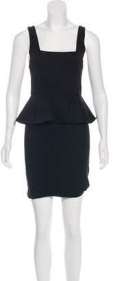 Alice + Olivia Peplum Mini Dress