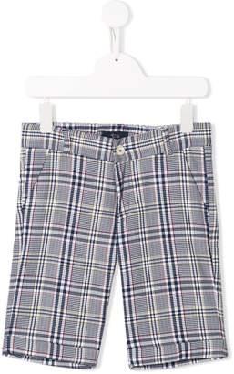 Harmont & Blaine Junior check bermuda shorts