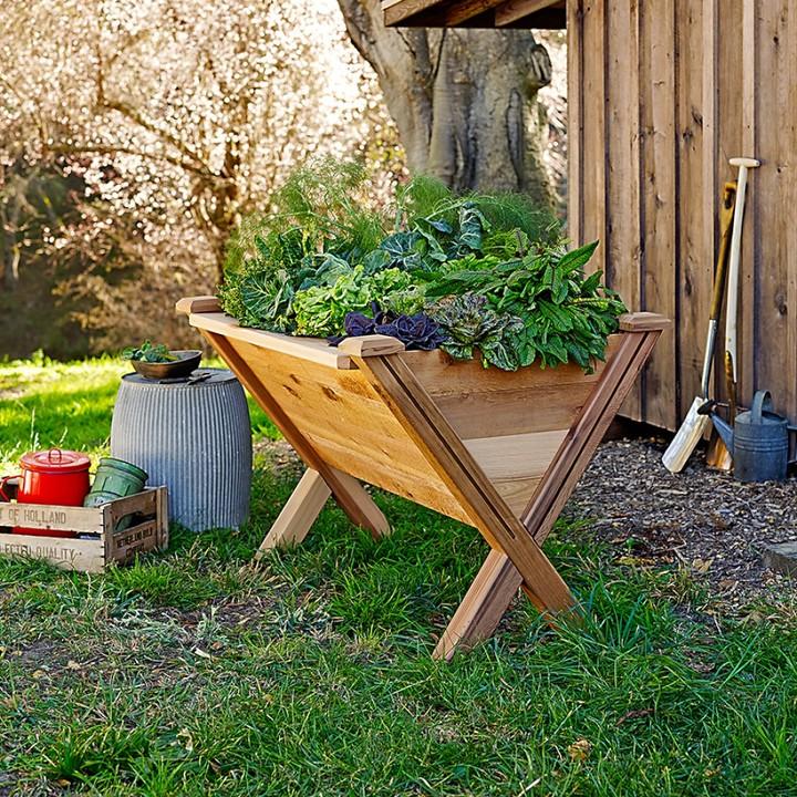 Williams-Sonoma Gronomics Modular Elevated Garden Wedge