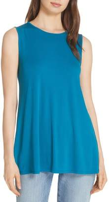 Eileen Fisher Round Neck Long Tunic