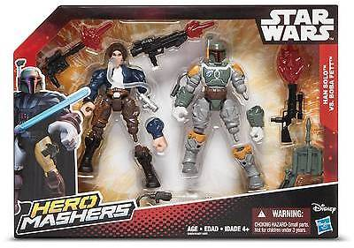 Star Wars Hero Mashers Han Solo vs. Boba Fett