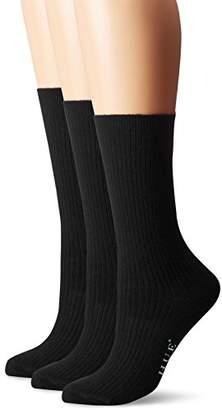 Hue Women's Relaxed Top Socks (Pack of 3)