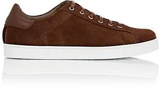 Gianvito Rossi Men's Suede Sneakers - Brown